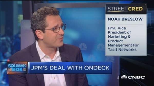 Small biz lending OnDeck: CEO