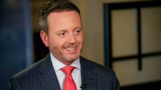 Brent Saunders, president and CEO of Allergan.