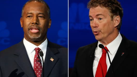 Ben Carson and Rand Paul