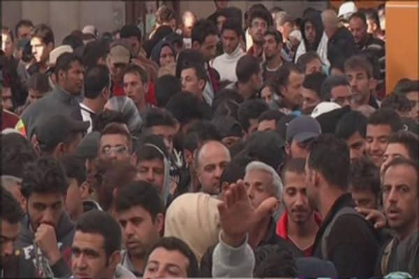 Denmark contemplates seizing migrants' valuables
