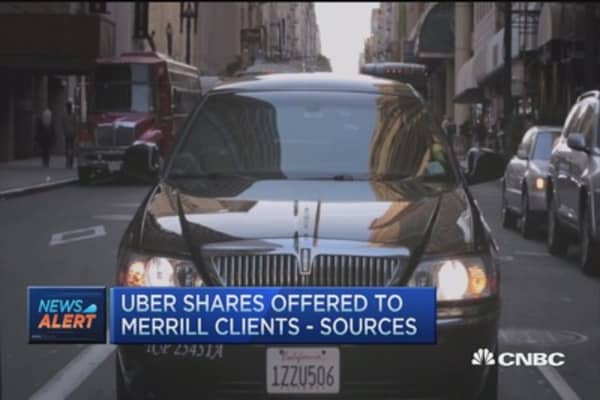 Uber a player in autonomous cars?