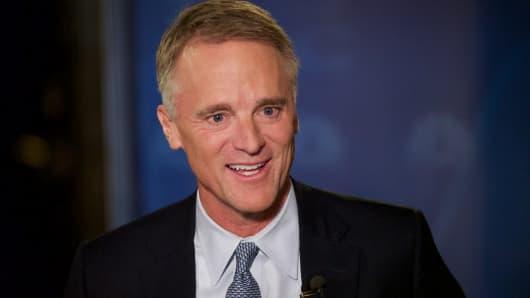 Michael Mahoney, president and CEO of Boston Scientific