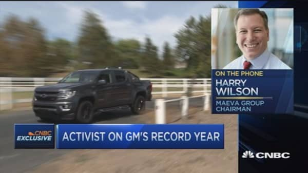 General Motors' record year