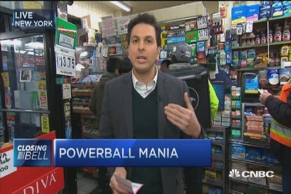Powerball Quickpick probably not the way to go