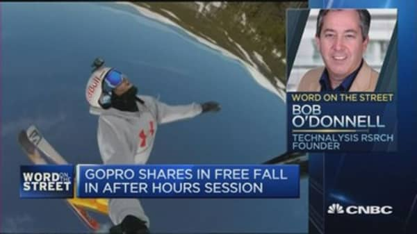 'GoPro is increasingly looking like a one-trick pony'