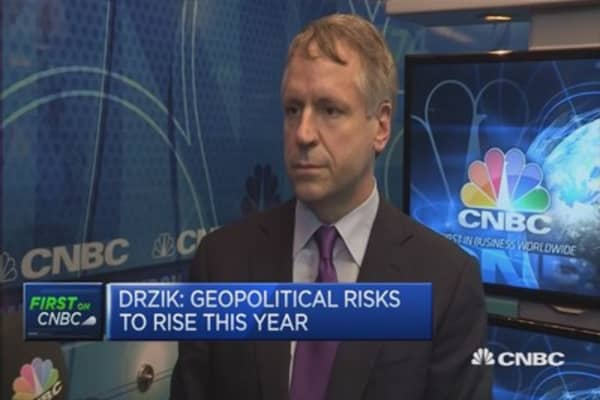 Geopolitical risks to rise in 2016: Drzik