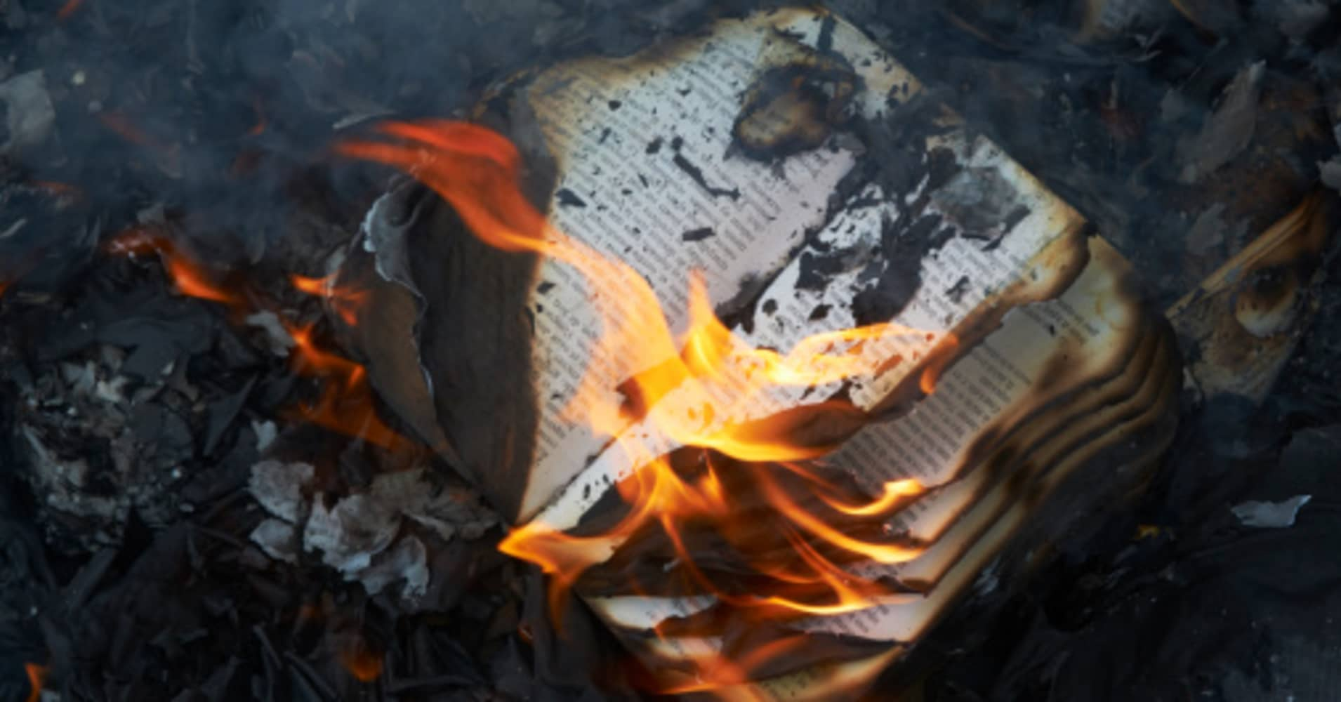 an analysis of book burning Summary & analysis the hearth and the salamander the hearth and the salamander this passage from the hearth and the salamander refers to montag's theft of books from the old woman's house burn it take the shot from the weapon breach man's mind.
