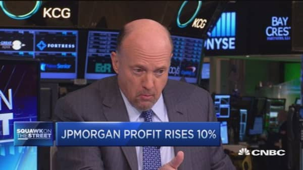 Cramer: Watch JPM today
