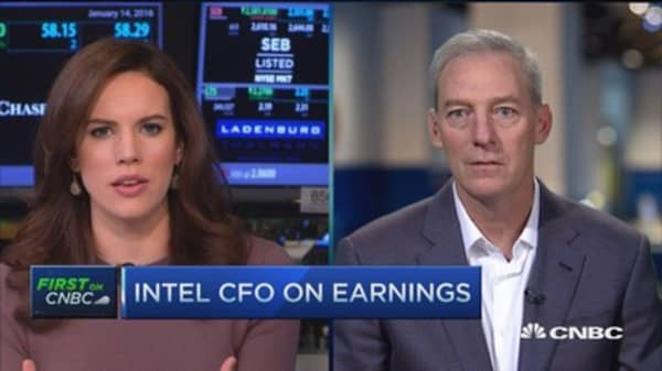 Intel 'uniquely positioned' in cloud and devices: CFO