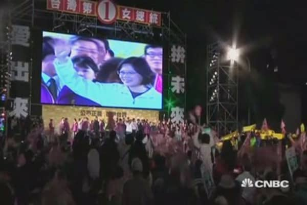 Taiwan heads for the presidential polls