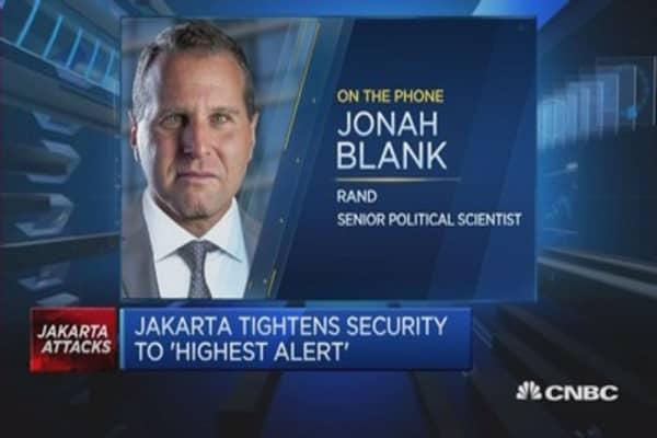 Jemaah Islamiyah offshoot likely behind Jakarta attacks
