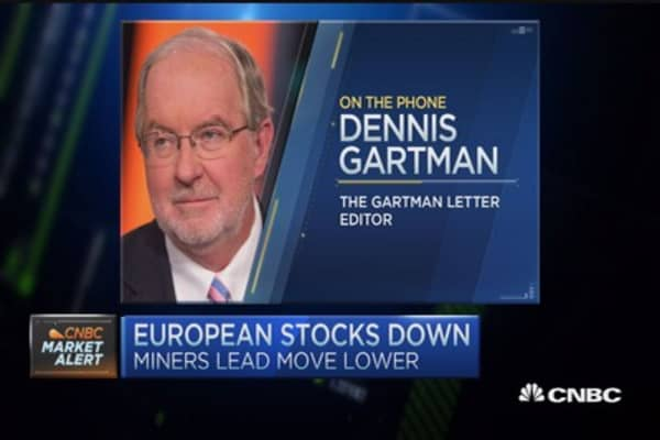 Gartman: Cash is 'the best place to be'