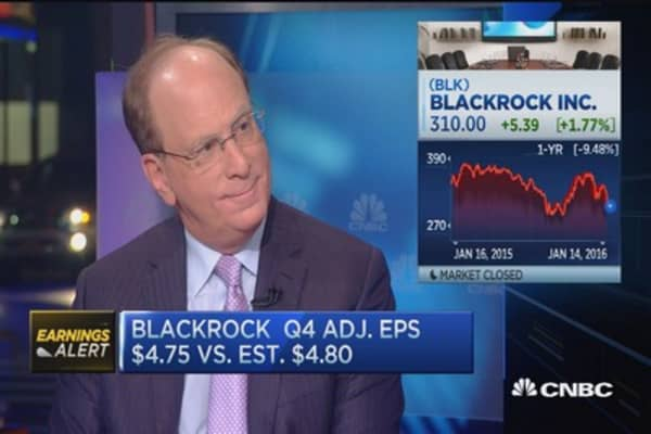 BlackRock CEO: Expect another 10% correction