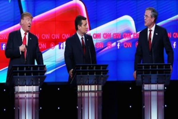 Sparks fly at GOP debate