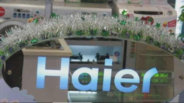 Haier buys GE appliance unit for $5.4B