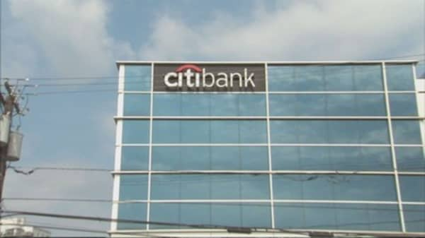 Citigroup stock down after earnings