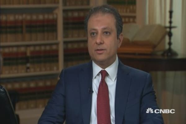 NY Attorney Bharara: Financial sector most vulnerable to cyberthreat
