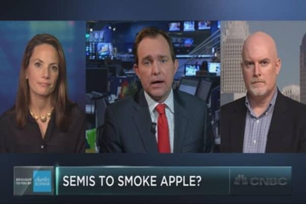 Will the semi stocks drag down Apple?
