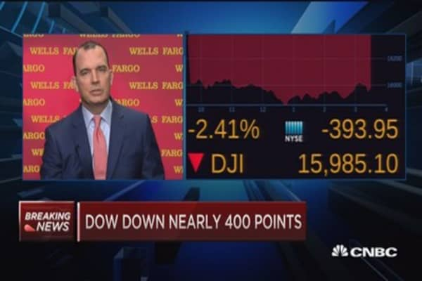 Wells Fargo CFO on economy, loans