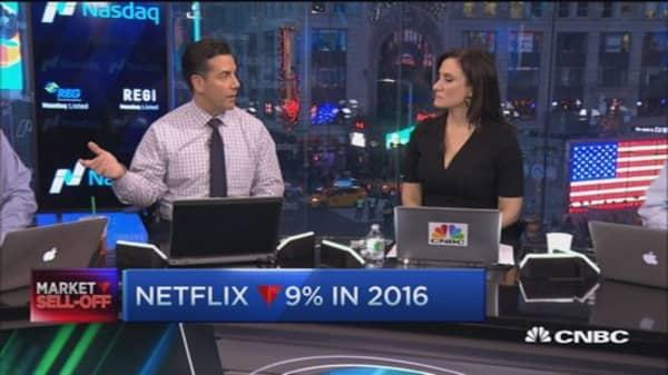 Buy into Netflix earnings?