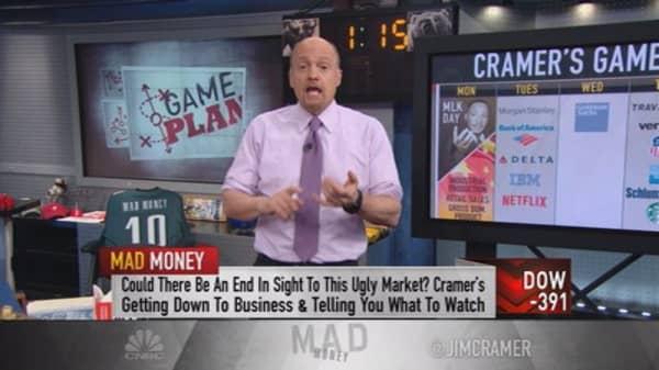 Cramer's game plan for next week