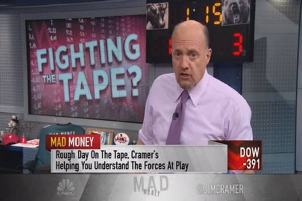 Cramer: Ever since the Fed started tightening ...