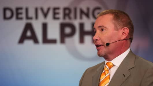 Jeffrey Gundlach, CEO and CIO, DoubleLine, at the 2015 Delivering Alpha Conference on July 15, 2015