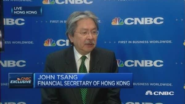 We're managing the HK dollar just fine: HK's John Tsang