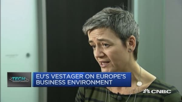 Is the EU targeting US corporations?