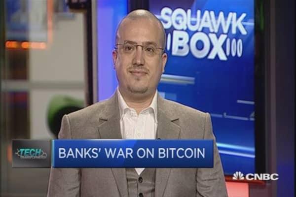 The war on bitcoin