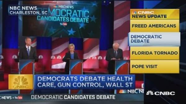 CNBC update: Democrats debate health care