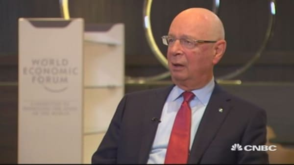 Trump welcome at Davos - if he listens: WEF's Schwab