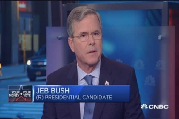 Jeb Bush: US-Iran relationship 'flawed'