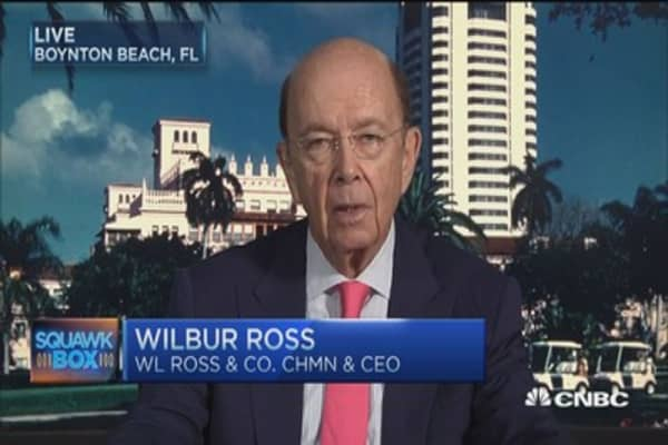 Wilbur Ross: Energy bonds 'blasted to smithereens'