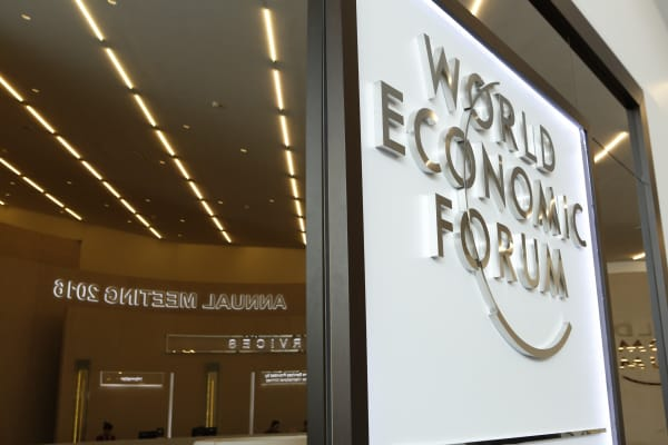 The 2016 World Economic Forum kicks off in Davos, Switzerland on Jan. 18, 2016.
