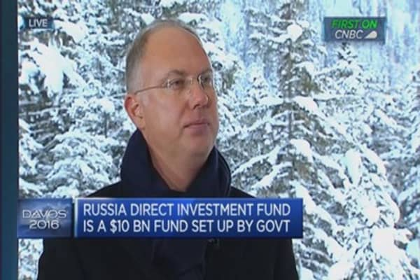 Weak ruble is good for exports: RDIF CEO