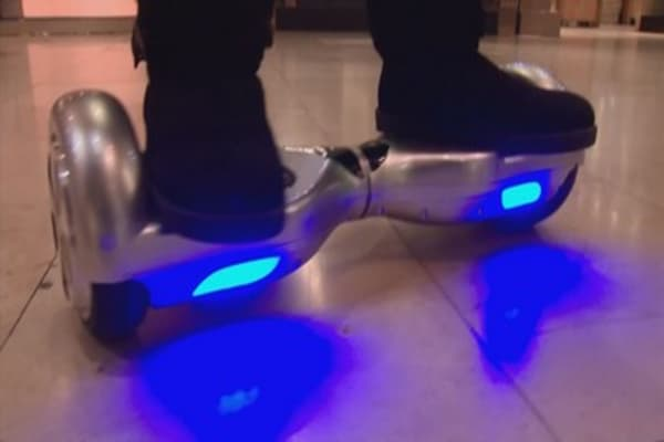 Official seize 300 hoverboards in Miami