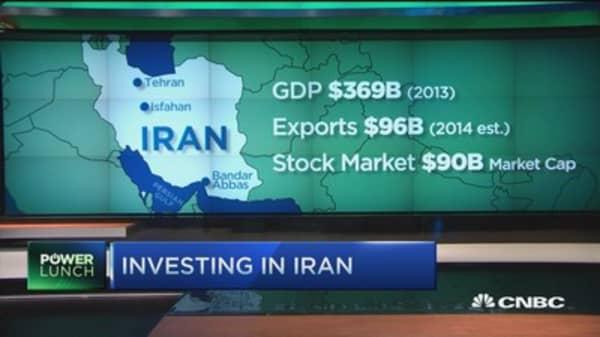 Iran's stock market up 5% in last week