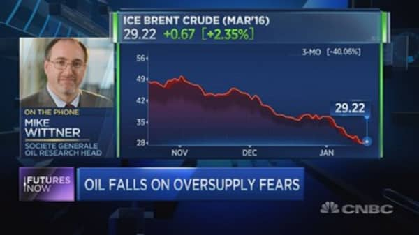 Crude oil is heading above $40: SocGen