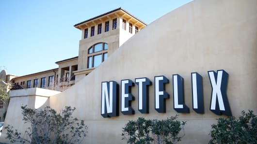 Netflix headquarters in California
