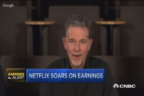 Netflix CEO: Excited for coming year