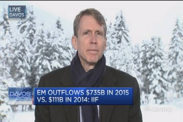 $735B pulled from EM in 2015: IIF CEO