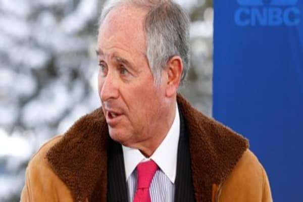 Blackstone CEO:  China slowing but not collapsing