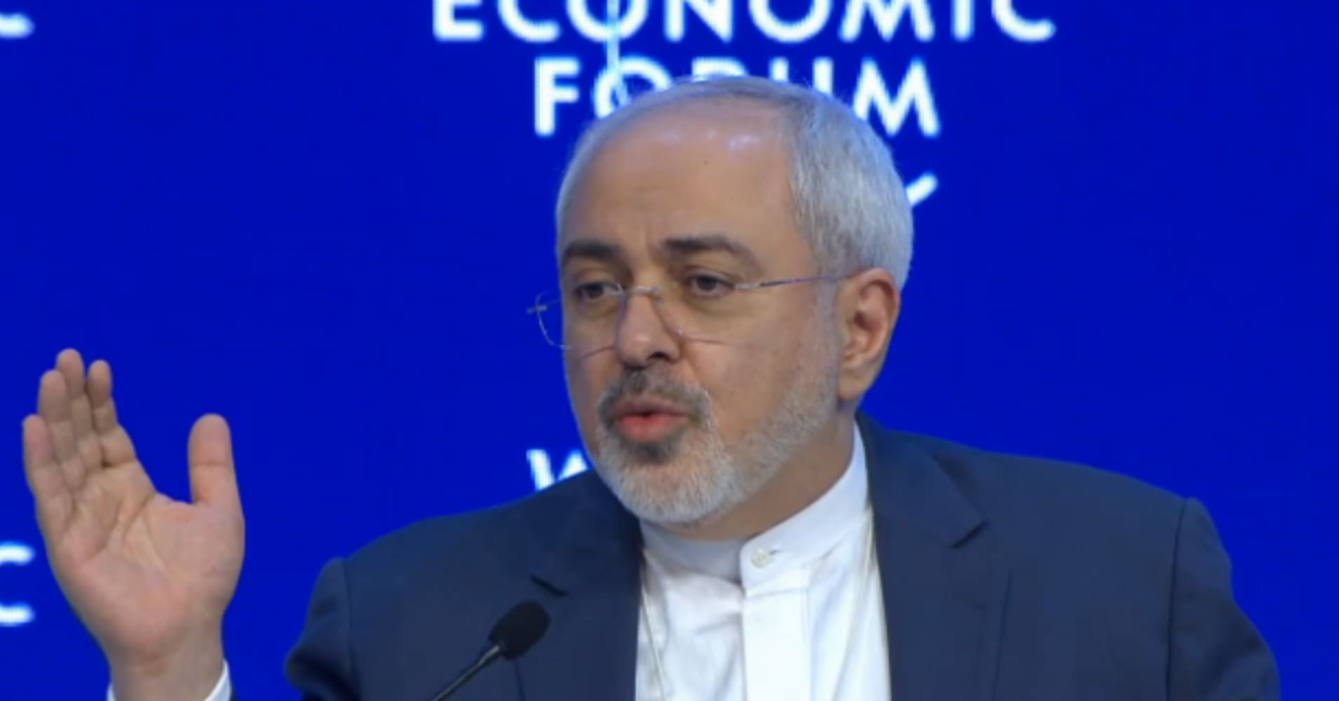 Iran's foreign minister urges government to join international money laundering watchdog