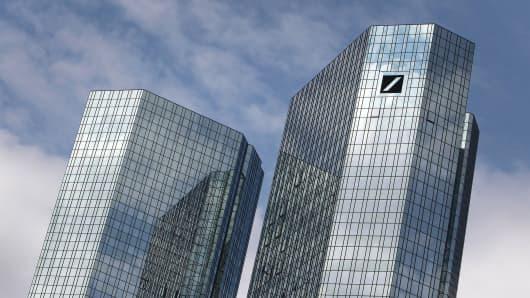 Deutsche Bank, headquarters buildings in Germany.