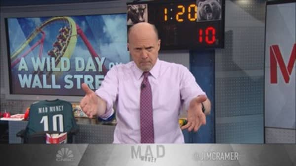 Cramer: That sell-off wasn't hideous enough