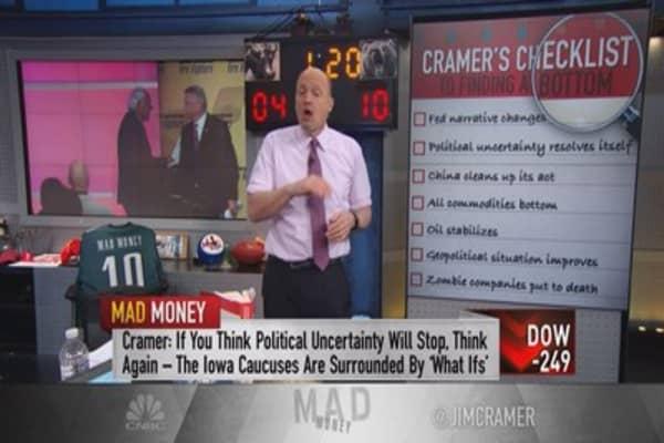 Cramer: When the market torture will end