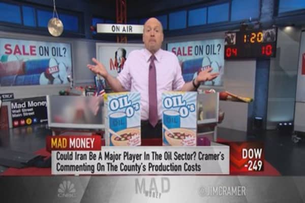 Cramer: Oil's ugly price war just got worse