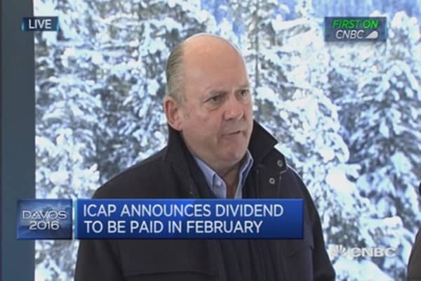 Seeing a major market correction: ICAP CEO