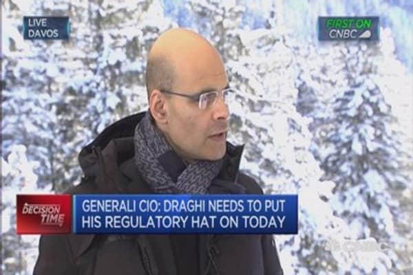Draghi needs to put his regulatory hat on: CIO